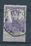OCB 117 - Telegraafstempel NINOVE - 1912 Pellens