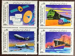 Iran 1989 Transport & Communications Decade MNH - Iran