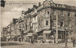 De Panne  *  Avenue De La Mer - De Panne