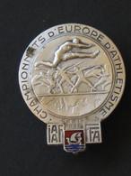 Championnats D'Europe D'Athlétisme - PARIS 1938  **** EN ACHAT IMMEDIAT **** - Atletiek