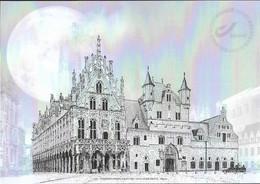 Belg. 2021 - Maison Communale De Malines ** - Zwarte/witte Blaadjes