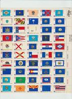 Etats-Unis; United  States; 1976 Sate Flags; Drapeaux Des 50 états. MNH. - Ungebraucht