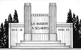 Sars La Buissière (Belgique) Projet ? Monument Format Et Qualité CP - Unclassified