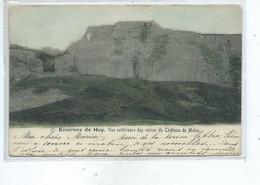 Environs De Huy Vue Extérieure Des Ruines Du Château De Moha - Wanze