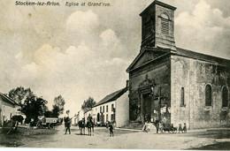 ARLON - STOCKEM - Eglise Et Grand Rue - Arlon