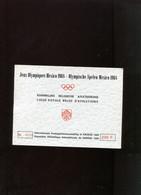 Belgie Erinno E105 Booklet Sports Athletics Olympics MEXICO 1968  OCB 35€ RR Oplage 1000 !!! (nr 173 ONPAAR) - Commemorative Labels
