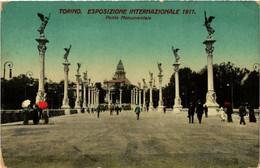 CPA AK TORINO Ponte Monumentale ITALY (542340) - Ausstellungen