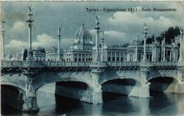 CPA AK TORINO Ponte Monumentale ITALY (542372) - Ausstellungen