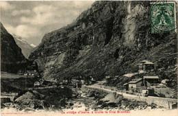CPA AK Le Village D'Iselle, á Droite La Villa Brandau ITALY (542417) - Other Cities