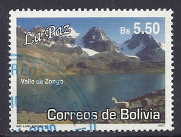 Bolivia - 2007 Mountains, Valle De Zongo, Lama, Mountain Lake, Landscapes, Paysages, Montagnes, Tourism - Used - Bolivia