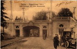 CPA AK TORINO Sotto Passaggio Del Ponte Monumentale ITALY (542792) - Ausstellungen