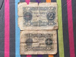 FRANCE Lot De 2 Billets De La Société Générale 18 Novembre 1871 - Bons & Nécessité