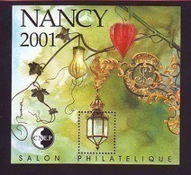 BLOC CNEP 2001 N° 33 - NANCY SALON PHILATELIQUE - CNEP