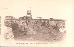 LE POULIGUEN (44) Pointe De Penchâteau - La Tour Rochereau En 1904 - Le Pouliguen