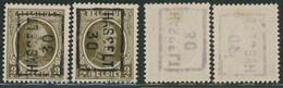 "Houyoux - N°191 Préo ""Hasselt 30"" Complet Position A/B (n°5368) - Roller Precancels 1930-.."