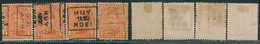 "Albert I - N°135 Préo ""Huy 1920 Hoei"" Complet (n°2503) - Roller Precancels 1920-29"