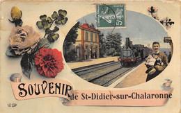01-SAINT-DIDIER-SUR-CHALARONNE- SOUVENIR - Other Municipalities