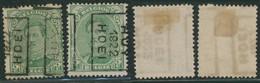 """Albert I - N°137 Préo """"Huy 1920 Hoei"""" Complet Position A/B (n°2840) / Cote Arrondie 25e - Roller Precancels 1920-29"""