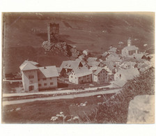 SUISSE,  Photo Originale 8 X 10,5 Cm - Hospenthal - Plaatsen