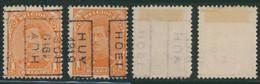 "Albert I - N°135 Préo ""Huy 1919 Hoei"" Complet Position A/B (n°2438) - Roller Precancels 1920-29"