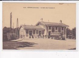 CERONS : La Gare Des Voyageurs - Très Bon état - Otros Municipios