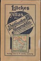 Lückes Atlas Der Briefmarken Geographie 1922 Mit 210 Karten - Otros Libros