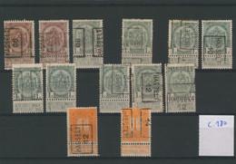 "Fine Barbe / Armoiries / Pellens - Plaquette + Préo ""Hasselt"" (1906 > 1914) / Cote 180e - Roller Precancels 1900-09"