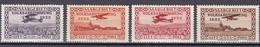 Saargebiet 1934 - Mi.Nr. 195 - 198 - Ungebraucht Mit Gummi Und Falzresten - Usati