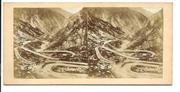 Photo Stereoscopique - Mont St. Gotthard. - Stereoscoop
