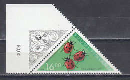 Finland 1994 - Insects: Marienkaefer, Mi-Nr. 1255, MNH** - Unused Stamps