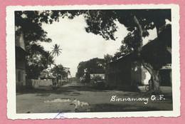 "Guyane - SINNAMARY - Carte Photo - Envoyée En 1934 - Timbre "" Exposition Coloniale Internationale 1931 "" - 2 Scans - Otros"
