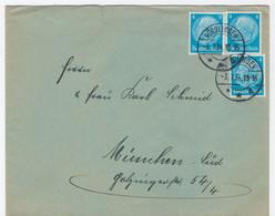 Brief, MeF, 1934, Von Nördlingen Nach München - Süd, Vignette, - Storia Postale