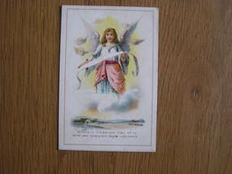 ANGE Chromo A LA VIERGE NOIRE Confection Pour Hommes Et Enfants Tournai Vêtements Magasin Trading Card Vignette - Unclassified