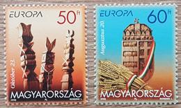 Hongrie - YT N°3645, 3646 - EUROPA / Festivals Nationaux, Fêtes Nationales - 1998 - Neuf - Nuovi
