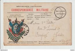 COURRIER  MILITAIRE-  14-18 --  20° TERR/ 20°CIE   -- SECTEUR POSTAL 175 -- ECRITE 1915 - 1914-18