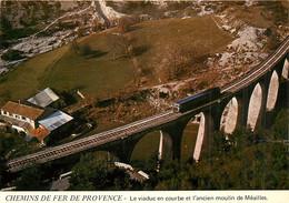 06* MEAILLES  Viaduc En Courbe – Train Nice A Digne (CPM 10,5x15cm)   RL16,0356 - Autres Communes