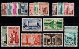 Maroc - YV 345 à 361 N** Complete Cote 24+ Euros - Unused Stamps