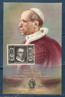 Anno Santo 1950 Cartolina Maximum - Maximum Cards