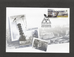 2021 Ukraine FDC Chernobyl. 35 Years Old. Revival. Fauna. Horse. Equus Ferus Przewalskii. Birds. Kyiv - Chevaux