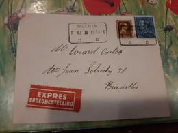 Belgique Courrier Expres 1938- Lot 153 - Briefe U. Dokumente