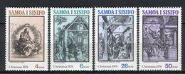 Samoa I Sisifo 1978. Yvert 428-31 ** MNH. - Samoa