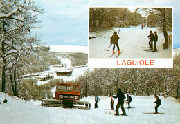 12* LAGUIOLE  Neige – Multivues  (CPM 10,5x15cm)    RL16,0570 - Laguiole