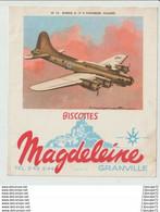 BISCOTTES  MAGDELEINE  GRANVILLE ----  LES AVIONS - Fliegerei