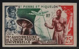 St. Pierre & Miquelon 1947 - Mi-Nr. 371 ** - MNH - Ungez. / Imp - UPU (I) - Unused Stamps