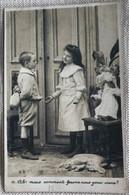 Enfants 1905 Petit Couple Poupée -dos Simple - Cartoline Umoristiche