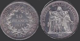 Pièce De 10 Fr Année 1967 - M. 50 Francs