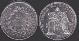 Pièce De 10 Fr Année 1970 - M. 50 Francs