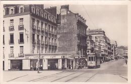 CPA 44 @ NANTES - Café Tabac De La Place De La Duchesse Anne En 1948 - Tram Tramway Vannes - Editeur Nozais N° 1100 - Nantes