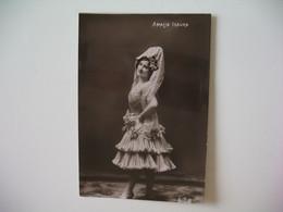 CPA Espagne Artiste Femme  - Tajeta Fotografica -  Artista   Amalia Isaura  - Postkarte Spanien - Otros