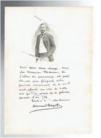 ARMAND DAYOT 1851 PAIMPOL 1934 BANDOL CRITIQUE ET HISTORIEN D ART PORTRAIT AUTOGRAPHE BIOGRAPHIE ALBUM MARIANI - Documents Historiques